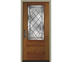 Exterior Designer by Exterior Design Cool White Pella Doors With Decorative Glass For