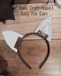 easy fox ears u2013 make it yourself texas craft house