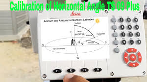 check leica total station