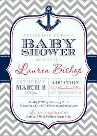 anchor baby shower invitations redwolfblog com