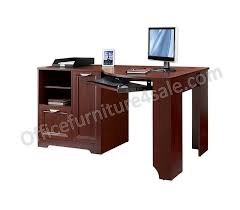 Cherry Desk Realspace Magellan Outlet Collection Corner Desk 30