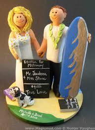 wedding cake topper of the day hawaiian cake topper custom