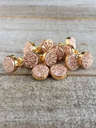 druzy earrings druzy stud earrings gold druzy