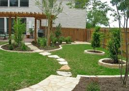 Landscaping Ideas For Front Yards And Backyards Planted Well - Backyard landscape design ideas on a budget