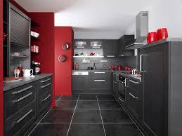 cuisine noir photo cuisine grise et 12 decoration sol gris lzzy co noir