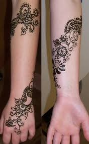 wrapping flowers on arm by mehndi on deviantart