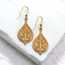 14kt gold earrings byzantine rus filigree earring set small 14kt gold gallery
