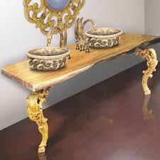 primitive baroque sink console camerin