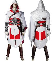 assassin u0027s creed brotherhood ezio cosplay costume halloween