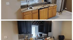 how to prep cabinets for painting tips for painting kitchen cabinets black dengarden