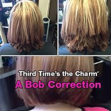 xtreme align hair cut third times the charm a bob correction behindthechair com