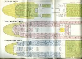 home deck plans home lines s s oceanic nassau cruises brochure deck plan 1967
