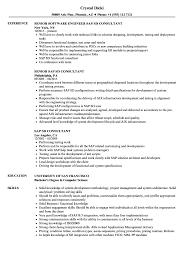 sap crm technical consultant resume sap sd consultant resume samples velvet jobs