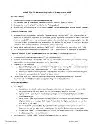 resume sample resume for government job