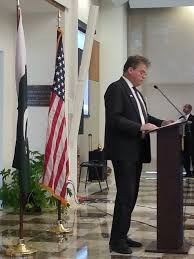 Photo Editor Pakistan Flag Us Pakistan Highlight Trade Potential Key Security Cooperation