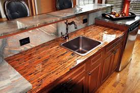 Epoxy Kitchen Countertops by Painting Kitchen Countertops Diy Metallic Epoxy Glass From Epoxy