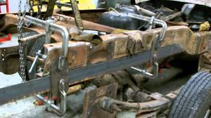 dodge frame reinforcement at detroit wrecker sales youtube