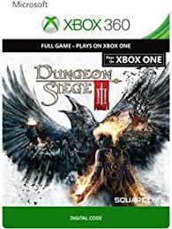 dungeon siege 3 xbox 360 amazon com dungeon siege iii xbox 360 xbox one digital code