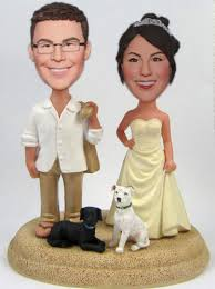 cake toppers bobblehead all products custom wedding cake toppers
