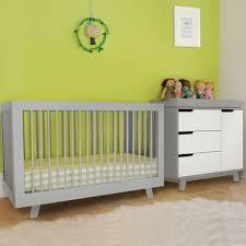 Hudson Convertible Crib Babyletto 2 Nursery Set Hudson 3 In 1 Convertible Crib And