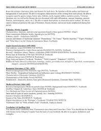 mid term exam review sheet english 11 2011