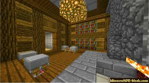 Minecraft Pe Bedroom One Bedroom House Transformer Mcpe Map 1 2 5 1 2 3 1 2 0 Download