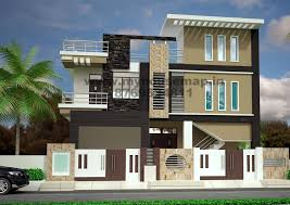 D Floor Plan Front Elevation Design House Map Building Design - Home map design