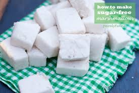 how to make sugar free vanilla marshmallows