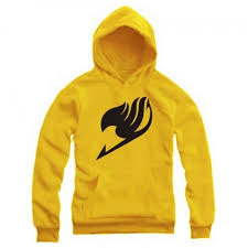 hoodies fairy tail hooded sweatshirt wizards u0027 guild logo printed