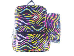 Zebra Print Bathroom Ideas Colors Girls Luggage Bag Kmart Com Backpack With Hydrator Animal Print