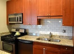 kitchen backsplash granite glass subway tile kitchen backsplash ideas with granite countertop