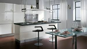 Small Kitchen Ideas With Island by Cozy White Small Kitchen Ideas With Lighting On The Top Above