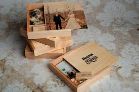 wooden print and usb box for photographers 3xm