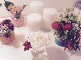 Vase Pour Composition Florale Idée Déco Florale Papier Japonais Fleuriste Bordeaux Mariage