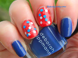 Nail Art Designs July 4 Happy Fourth Of July 2014 Beautyjudy