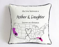 gifts for mothers to be distance pillow christmas gift from