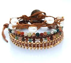 How To Make Jewelry Beads At Home - wrapped stacked u0026 layered challenge reveal make bracelets