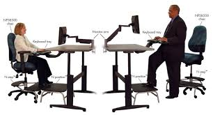Sit To Stand Desk Sit Stand Workstations Brian Fulton Registered Therapist