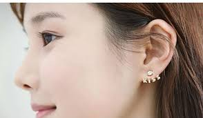 korean earings korea earrings stud earrings fancy korean stud earrings