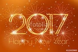 happy new years posters happy new year 2017 card with gold fireworks glowing on a