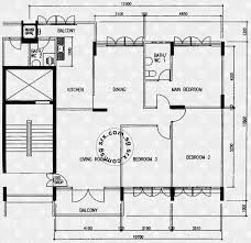 floor plans for bedok north avenue 3 hdb details srx property