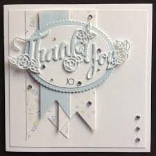 order code 041707 thank you card with a lovely like feel