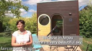 tiny portable prefab cube shelters in medieval french town youtube
