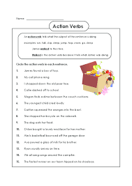 action verb worksheet free worksheets library download and print