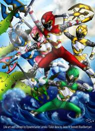 60 power ranger art images power