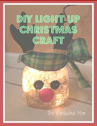 need an easy craft for the holidays this adorable light up jar is