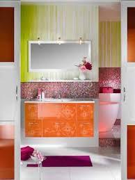 orange bathroom decorating ideas contemporary bathroom decorating ideas bright purple and pink
