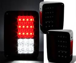 Jeep Tj Led Tail Lights Jk Tj Led Tail Lights Archives My Fenix Light
