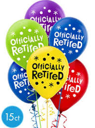 retirement balloons delivery retirement balloons party city