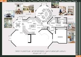 floor octagon home floor plans